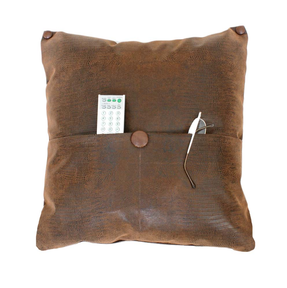 Pocket Pillow Brown 1