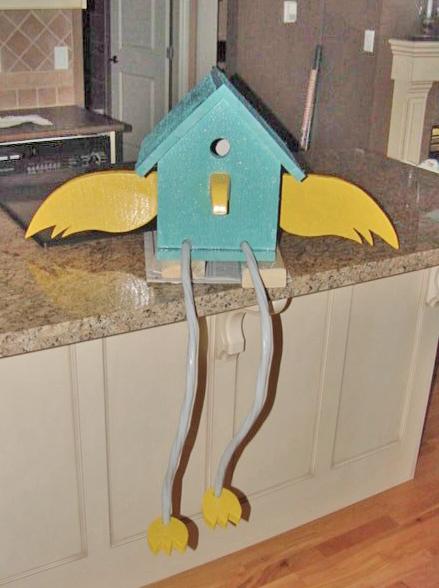 $2000 Birdhouse by PillowThrowDecor
