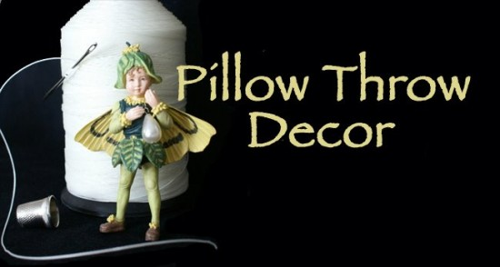 Pillow Throw Decor Pillow Fairy