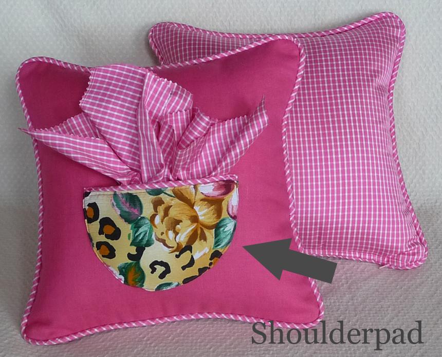 pink teacup pillows