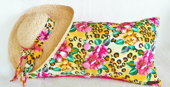 Decorative Pillows from upcycled clothing