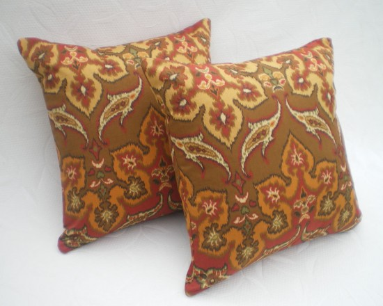 Ethnic Pillows in Indian, African, Asian Decor