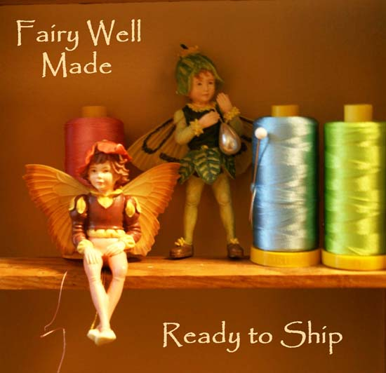 Pillow fairies at PillowThrowDecor are a major influence on the fun whimsical designs