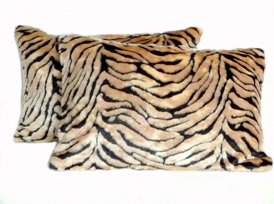 Faux Fur Pillow Shams