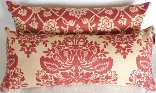 Long Linen Pillows