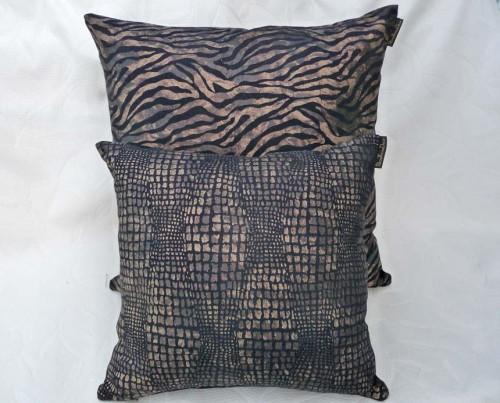 animal print throw pillows
