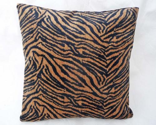 Tiger print pillow for men