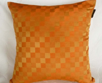 Abstract orange pillow