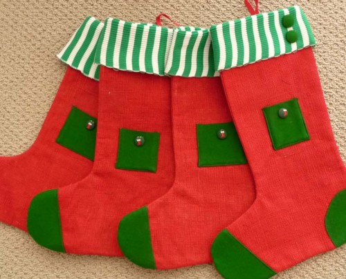 Christmas Elf Stockings