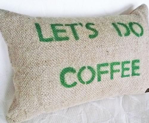 Recycled Burlap Pillow