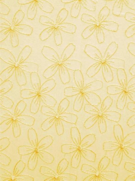 yellow daisies at Maxwell fabrics