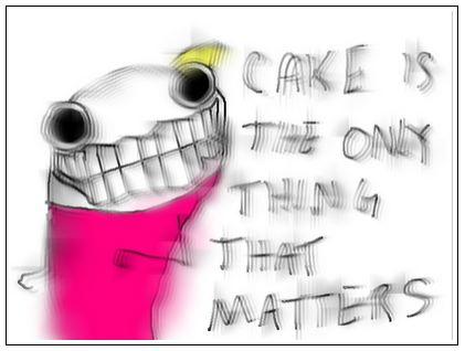 Humorous cake story