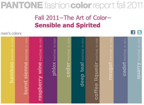 Mens Fall Colors 2011