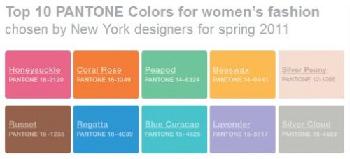 Womens Spring Colors 2011