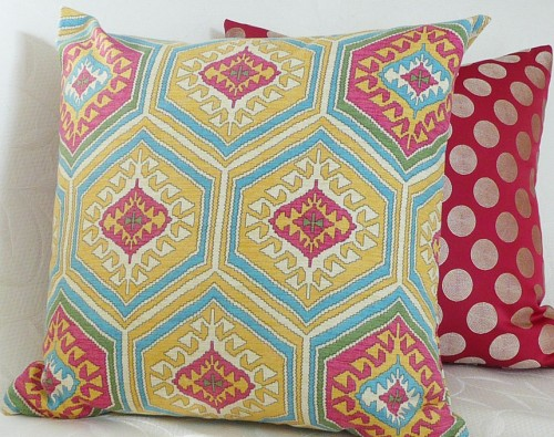 Southeastern Tribal Print Pillow Cover