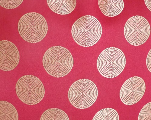 Dotted Pink Pillow Cover