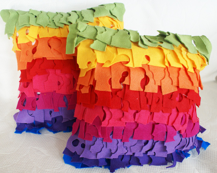 Color Me Happy Pillows