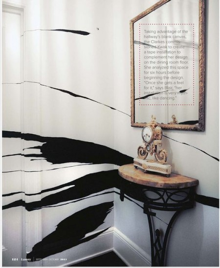 Lonny Mag Abstract Wall Painting
