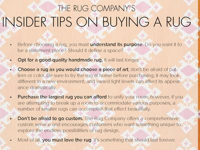 Tips on Buying a Rug