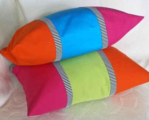 Bright Colorful Throw Pillows