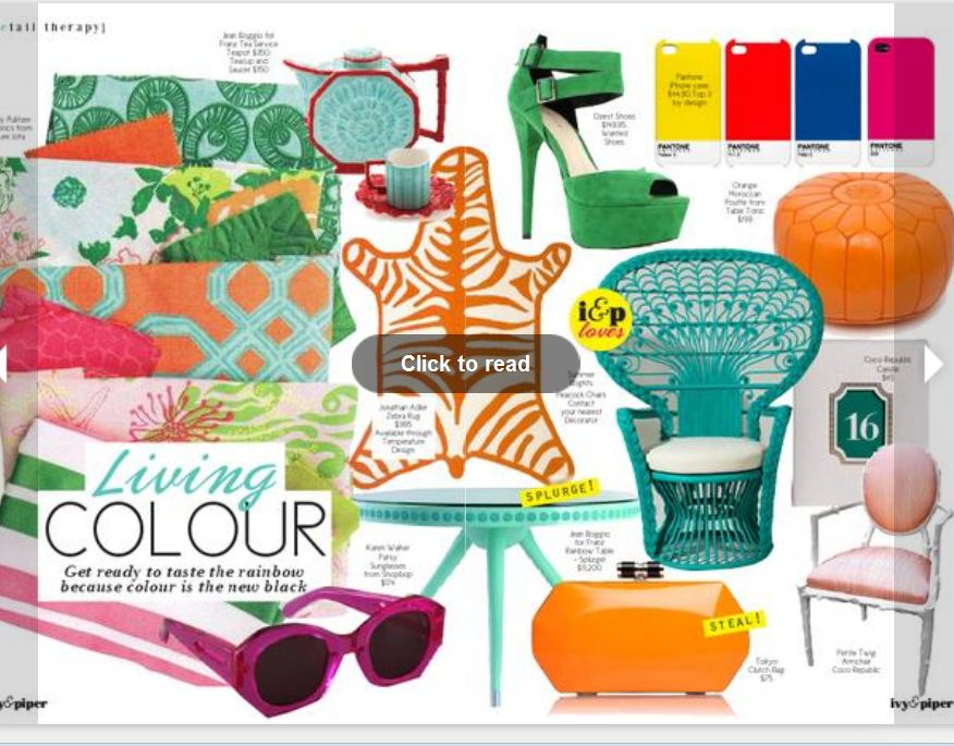 Ivy and Piper Online Magazine March 2012 Home Decor Inspiration