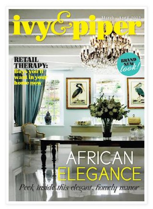Ivy and piper online magazine march 2012 home decor Home decor magazines