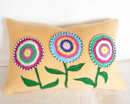 Bright Bohemian Floral Pillows