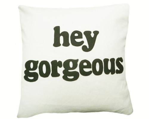 Flirty Pillow Talk: hey gorgeous text